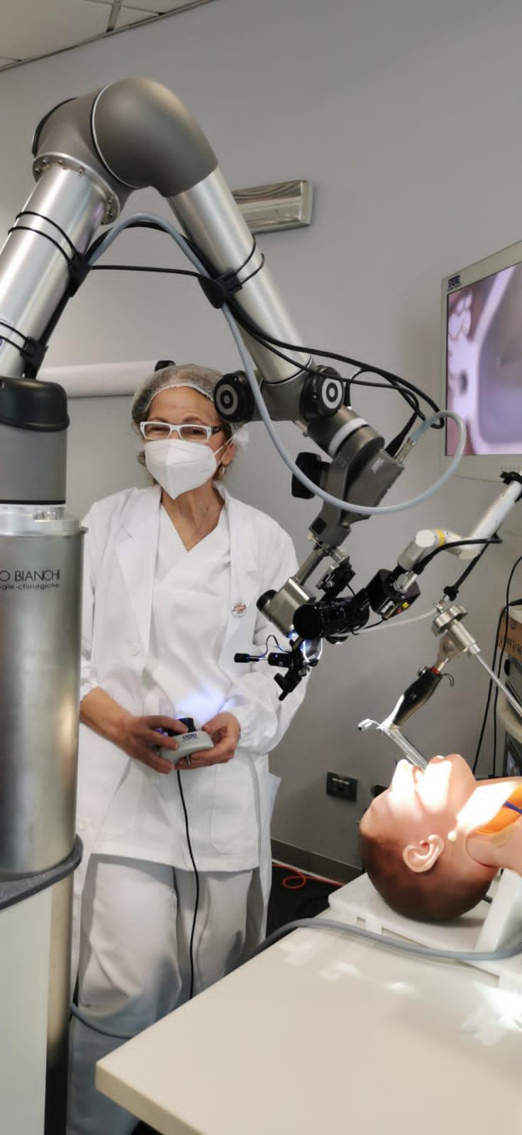 test manichino micro chirurgia laringea